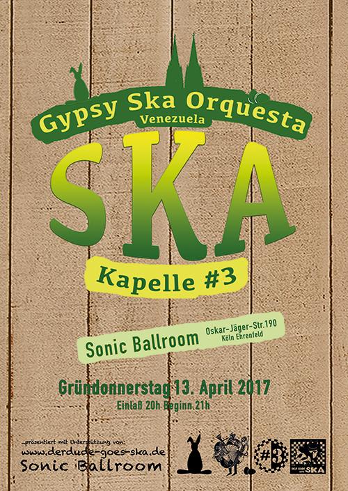 Kapelle#3 meets Gypsy Ska Orquesta